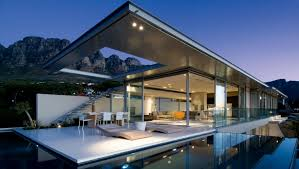 M Lovable Modern Waterfront Home Designs Fancy Luxury Plans  As Well Astonishing