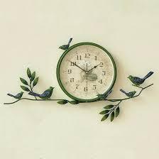 bird wall clock british bird sound