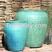 ceramic garden pots large ceramic garden pot pots tall round barrels with planters inspirations ceramic planter