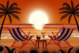 94 Beach Chair Back Stock Vector Illustration And Royalty Free Beach
