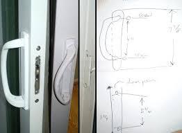 replacing patio door handle door handle simonton patio door replacement parts pella sliding patio door handles