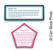 Decorative Text Boxes Decorative text box eps vectors Search Clip Art Illustration 81