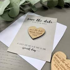 How To Make A Save The Date Card Wedding Save The Date Cards Wedding Invitations Wooden