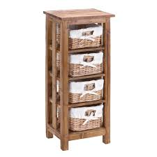 Bathroom : Inspiring Wooden Bathroom Storage Cabinet With Woven ...