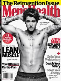 Justin Bieber Covers Mens Health Reinvention Issue апрель татуировки