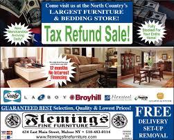 Tax Refund Sale Flemings Fine Furniture