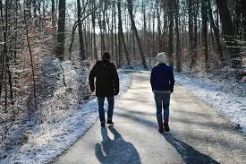 Image result for couples walking in the snow