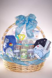 Gift Basket Wrapping Ideas Baby Shower Its A Boy Gift Basket Gift Baskets Pinterest