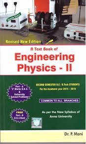 A Text Book Of Engineering Physics-Ii (Anna University-16): Buy A ...