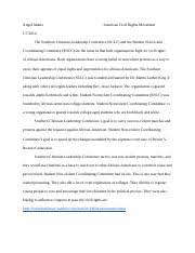 hist american civil rights movement thomas edison state 5 pages civil rights essay 2