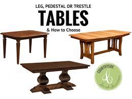 leg table pedestal table