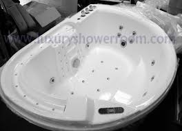 l 2 person jetted bathtub massage tub whirlpool air massage jacuzzi hyb 202 white