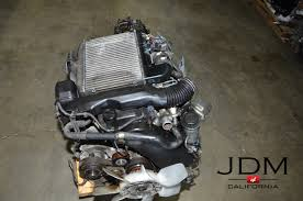 JDM Toyota 1KD-FTV Diesel Turbo Engine with Automatic Transmission ...