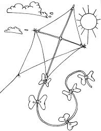Small Picture Kite Colouring In Pages Alltoys for