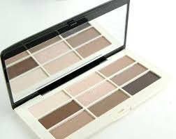 hm beauty eyeshadow palette smoky s review
