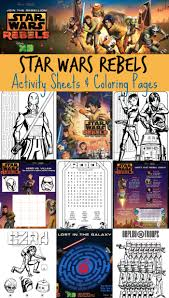 Small Picture Star Wars Rebels Printable Activities Coloring Pages