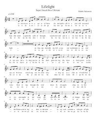 World Of Light Piano Sheet Music Super Smash Bros Ultimate Lifelight Treble Clef Eng Jp