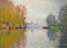 impressionism byron s muse claude monet autumn on the seine argenteuil