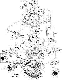 Fig 11 exploded view of the rochester e4me carburetor car