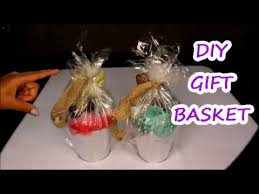 DIY GIFT BASKET} FOR BABYSHOWER GAME WINNERS - YouTube