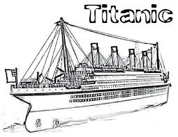 Titanic Coloring Page Titanic Coloring Page Titanic Coloring Pages