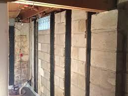 repairing bowed basement walls