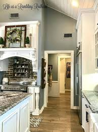 blue kitchen wall colors. Interesting Blue Oak Kitchen Cabinets And Wall Color Lovely Blue Walls U2013  Beardlybrothers Of Inside Colors