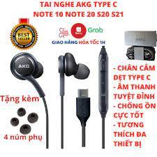 Tai nghe AKG Type C Note 10 S20 zin chính hãng + Tặng 4 nút tai phụ -  Samsung Note 20 S20 Plus Ultra - Tai nghe có dây nhét tai