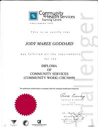 diploma community services