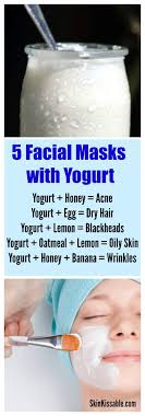 What Does Yogurt Really Do For Your Skin? 5 Recipes for Clear Skin ...