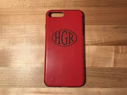 personalized laser engraved iphone7 and iphone 7 plus leather cases