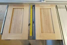 Image Pippy Oak Image Is Loading Handmadereplacementsolidoakshakerstilekitchen Ebay Hand Made Replacement Solid Oakshaker Stile Kitchencabinet