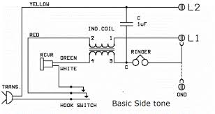 telephone history the basic sidetone circuit drawn from we wall phone hotel phone is shown in figure right >