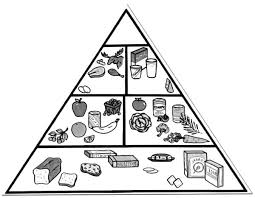 Small Picture Drawing Food Pyramid Coloring Pages Download Print Online