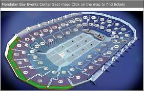 Mandalay Bay Events Center Boxing Seating Chart 48 Circumstantial Mandalay Bay Event Center Map