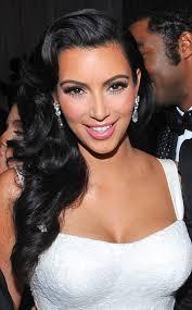 kim kardashian wedding ham (hair and makeup) bridal hair and Down Wedding Hair And Makeup kim kardashian wedding hair makeup kanye Wedding Hairstyles