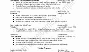 Child Care Resume Fresh Child Care Resume Templates Free Or Cover