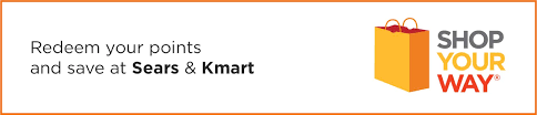 redeem your points and pay less at sears and kmart your way