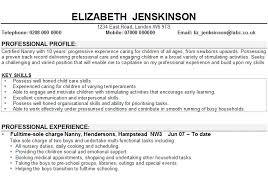 Child Care Resume Babysitter Resume Sample Resume Sample Resume