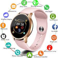 <b>LIGE 2019 New</b> Smart Watch Blood Pressure Oxygen Fitness ...