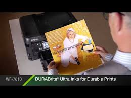 <b>Epson</b> WorkForce WF-7610 All-in-One Printer | Inkjet | Printers | For ...