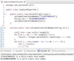Also validates the cvc and the expiration date. Java Credit Card Validation Luhn Algorithm In Java Journaldev