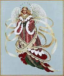Angel Cross Stitch Patterns Gorgeous Lavender And Lace Angel Of Christmas Cross Stitch Pattern