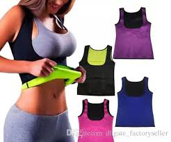 2017 Thermo Sweat Hot Neoprene Body Shaper Slimming Waist Trainer Cincher Yoga Vest