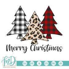 You can copy, modify, distribute and perform the work, even for commercial purposes, all. Merry Christmas Svg Buffalo Plaid Tree Svg Leopard Tree Svg Morgan Day Designs