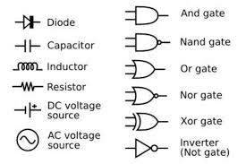 common circuit symbols diagram schematic wiring diagram symbols on common circuit symbols