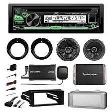 harley stereo motorcycle parts ebay Harley Stereo Wiring Harness 98 2013 harley stereo radio install adapter kit speakers xm tuner amplifier harley davidson stereo wiring harness