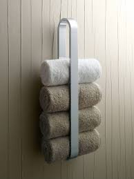 amusing wall mount white iron towel rack ideas hang on wooden wall bathroom panels as handmade accesories bath ideas