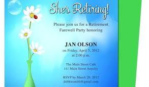 Free Printable Retirement Party Invitations Plus Free Printable