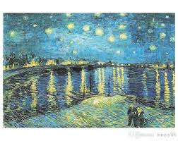 2019 famous oil painting starry night over the rhone by vincent van gogh jigsaw puzzle from minny88 40 2 dhgate com